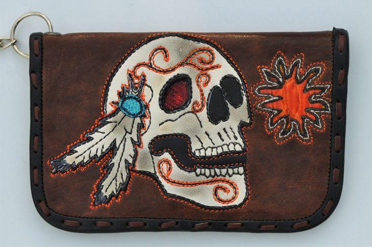 Wallet Indian Sun Warrior (SOLD)