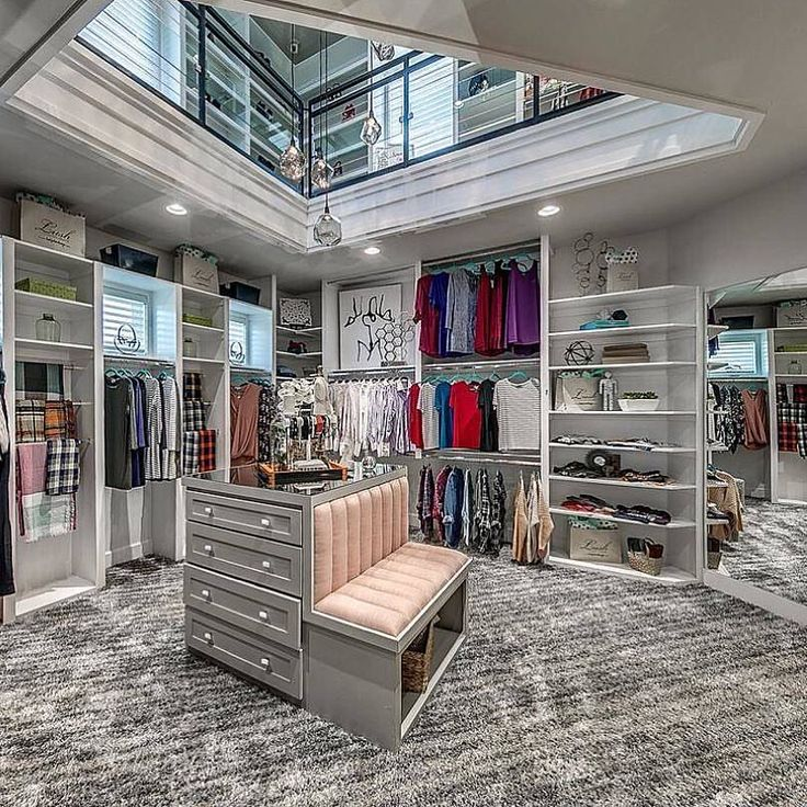 Two Story Walk In Closet Yes Please By Authentic Custom Homes