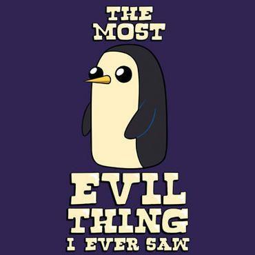 Adventure Time gunter evil