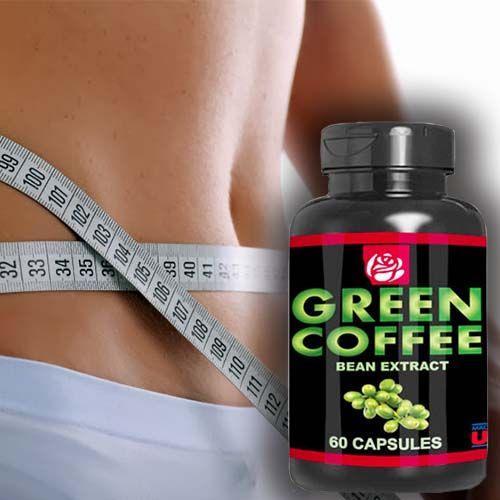 Perder peso   Green Coffee extracto de grano 60 Caps  Weigth loss - Granos de café verde son los granos de café que aún no han sido tostados.  El proceso de tostado de los granos de café reduce las cantidades de ácido clorogénico química. Por lo tanto, los granos de café verdes tienen un mayor nivel de ácido clorogénico, en comparación con granos de café tostado regulares. El ácido clorogénico en el café verde se cree que tiene beneficios de salud... MAS INFORMACION EN NUESTRA WEB