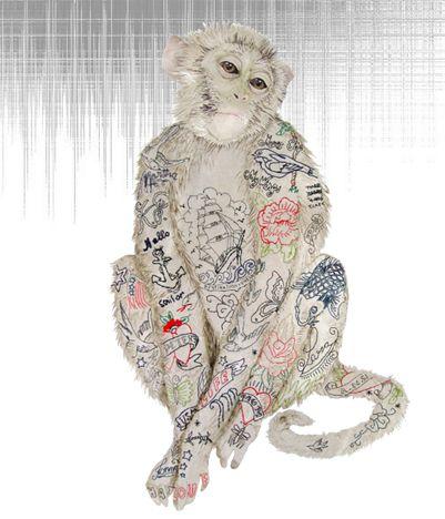 By London based mixed media textile designer Karen Nicol.