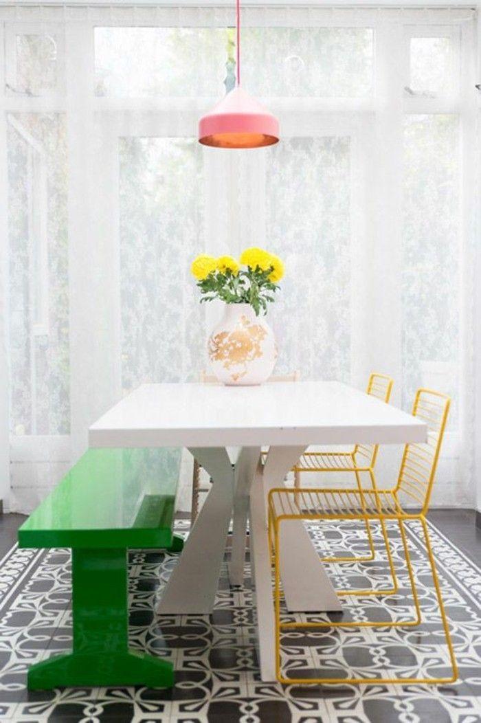 ▷ 1001 + Ideen Für Esszimmer Deko Zum Faszinieren | Einrichtungsideen |  Pinterest | Gelbe Blumen, Esszimmer Und Schlicht