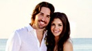 """Country singer Jake Owen married Lacey Buchanan in a sunrise beach ceremony in Vero Beach, Florida on Monday.    According to People.com, the bride wore an Amsale wedding dress while the groom donned a white linen Armani shirt and Tommy Bahama drawstring pants.    """"A best friend for life. I now have a wifey :) my face hurts from smiling,"""" Owen posted on his Twitter page. """"What a wonderful way to start the rest of my life."""""""