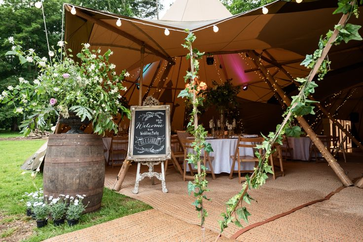 Pipewell Hall, an outdoor & tipi wedding venue in Northants (11)
