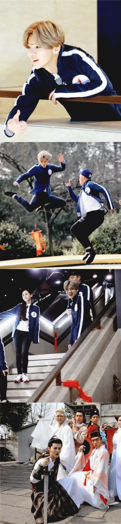 Luhan in Hurry Up Brothers S04 Still Cuts