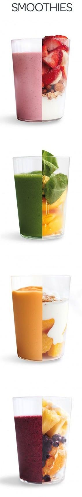 Add fruit, fiber & vitamins to your diet with the 200+ smoothie recipe app! #Smoothies