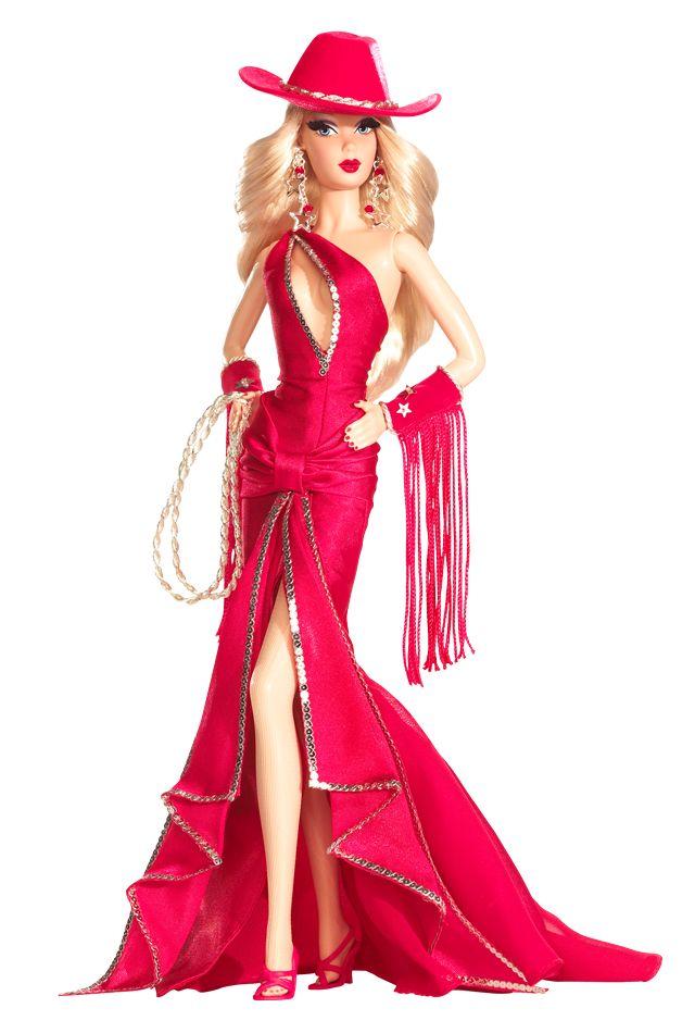 Dallas Darlin' Barbie Doll - Special Occasion - 2007 Convention Barbie Dolls -  Barbie Collector