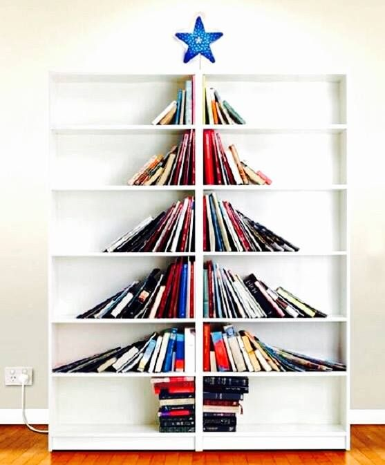 Christmas Tree Bookshelf Design Easy DIY Home Decor Ideas We Love At Connection