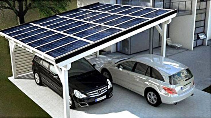 Solar Panel Carport : Curated carport ideas by mikaelrajaniemi