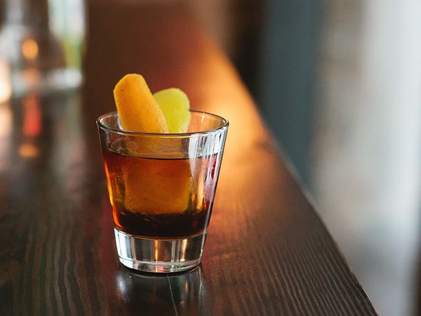 Island Old-Fashioned | Cocktails | Pinterest