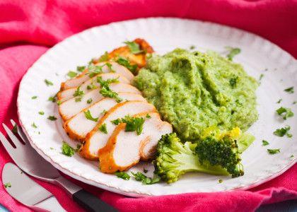 Kyckling med broccolimos – 5:2-recept | MåBra - Nyttiga recept