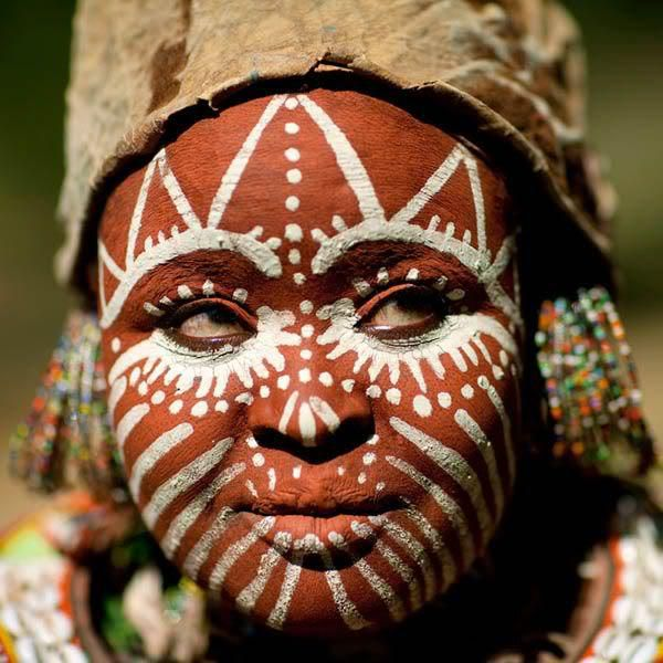 Pinturas Tribais Africanas – Brazilian black beauty