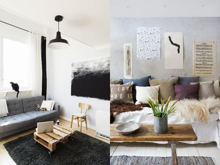 Zu Hause in Warschau bei Marta Suchodolska u2013 WESTWING Tes and - wohnzimmer in schwarz weiss stil