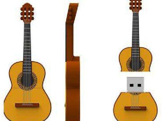 """USB PERSONAJES 8 GB en """"La Tienda de DoDi"""" #usb #pendrive #guitarra #flamenco #musica #datos #informatica #tecnologia #diseño #regalos"""