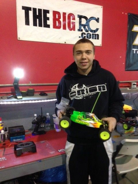 Team Kyosho/Orion driver CJ Ferrell wins Top Gear/J Concepts Winter Champs | The Big RC