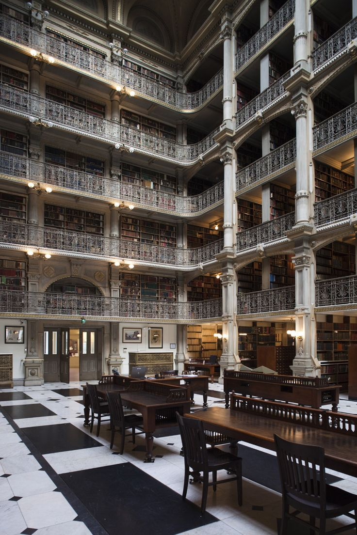 Biblioteca George Peabody, Baltimore