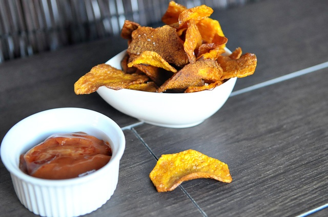 Butternut Chips with Chipotle Ketchup {recipe}: Gap Recipes, Ketchup Recipes