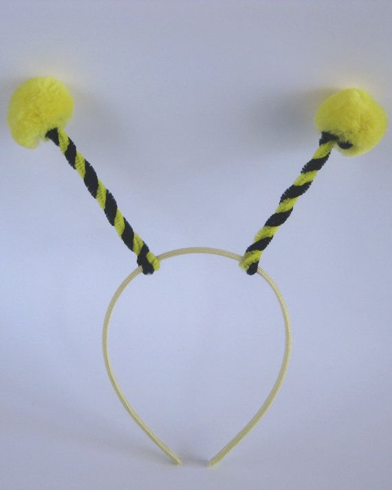 Bumble Bee Headband. $5.00, via Etsy.