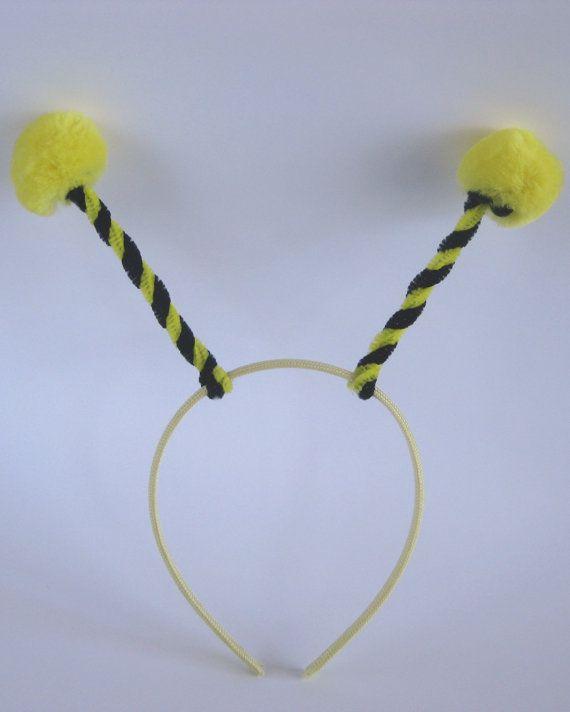 Bumble Bee Headband. $5.00, via Etsy.