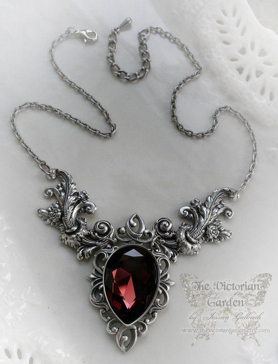 ENIGMA NeoVictorian gothic wedding necklace by TheVictorianGarden