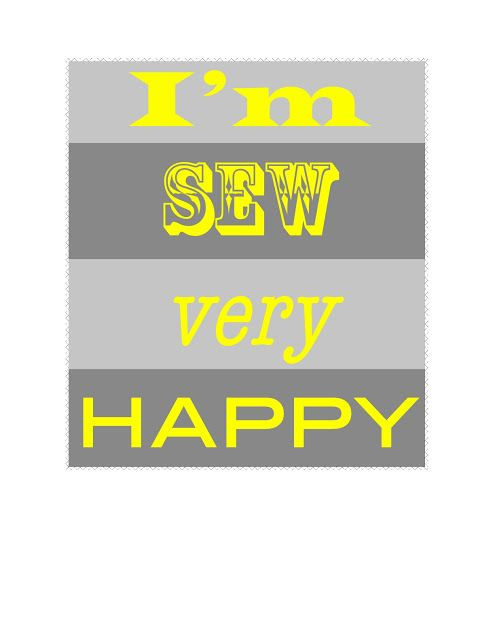 More I'm SEW very Happy - C.R.A.F.T. - 5 colors