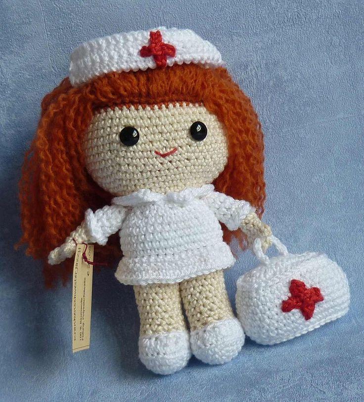Sayjai amigurumi crochet patterns ~ K and J Dolls / K and J Publishing: Dolls made by Akinna Stisu (design from K and J Dolls)