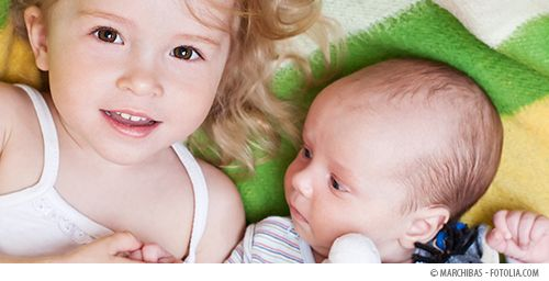 Tips for when your toddler is still learning boundaries and safety around the new baby.