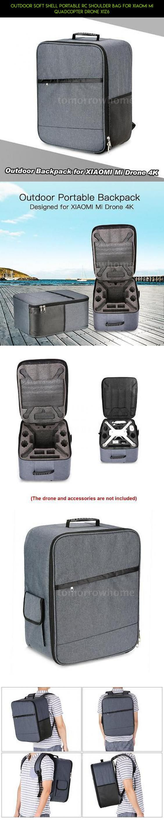 Outdoor Soft Shell Portable RC Shoulder Bag for XIAOMI Mi Quadcopter Drone X1Z6 #gadgets #drone #fpv #kit #xiaomi #racing #plans #tech #products #shopping #technology #mi #bag #camera #parts #drone