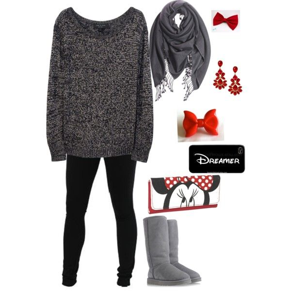Oversized Sweater and Leggings - Polyvore | Fashion | Pinterest | Disney Fashion and A child