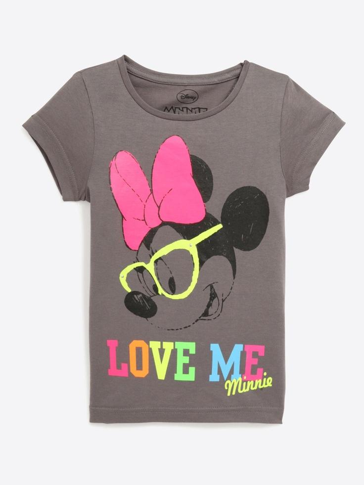 T-shirt Minnie enfant fille