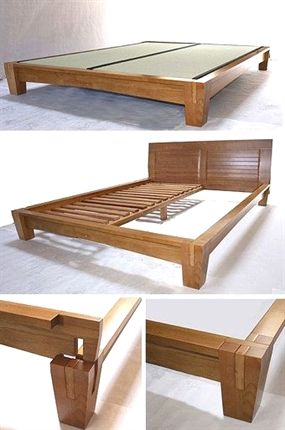 Yamaguchi Platform Bed Frame Honey Oak In 2018 Platform Bed Plans