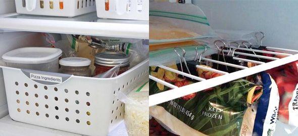 Το ψυγείο είναι μια από τις οικιακές συσκευές που σας ταλαιπωρούν εξαιτίας της... ακαταστασίας που επικρατεί στο εσωτερικό του; Δείτε πώς θα το οργανώσετε για να το κάνετε πρακτικό για όλη την οικογένεια.