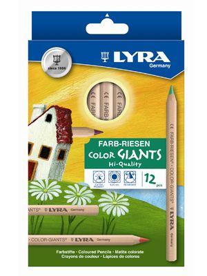 Lyra Buntstifte 'Farbriesen' 12 Stifte sortiert