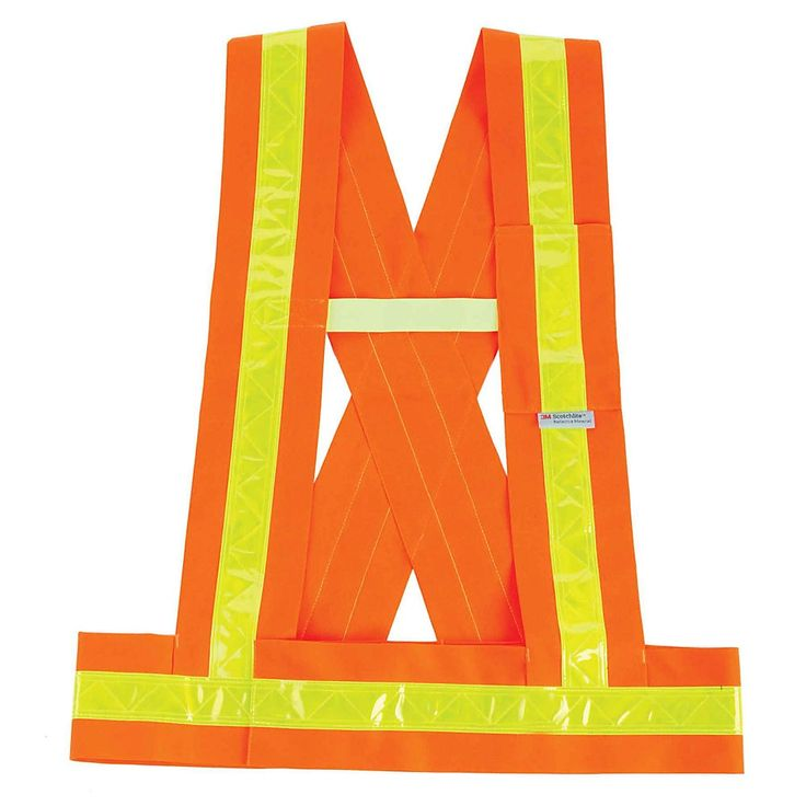 Ergodyne Glowear Safety Vest Breakaway Sash Type O Class 1 3x Orange 8140ba Sash Suspenders Arc Flash