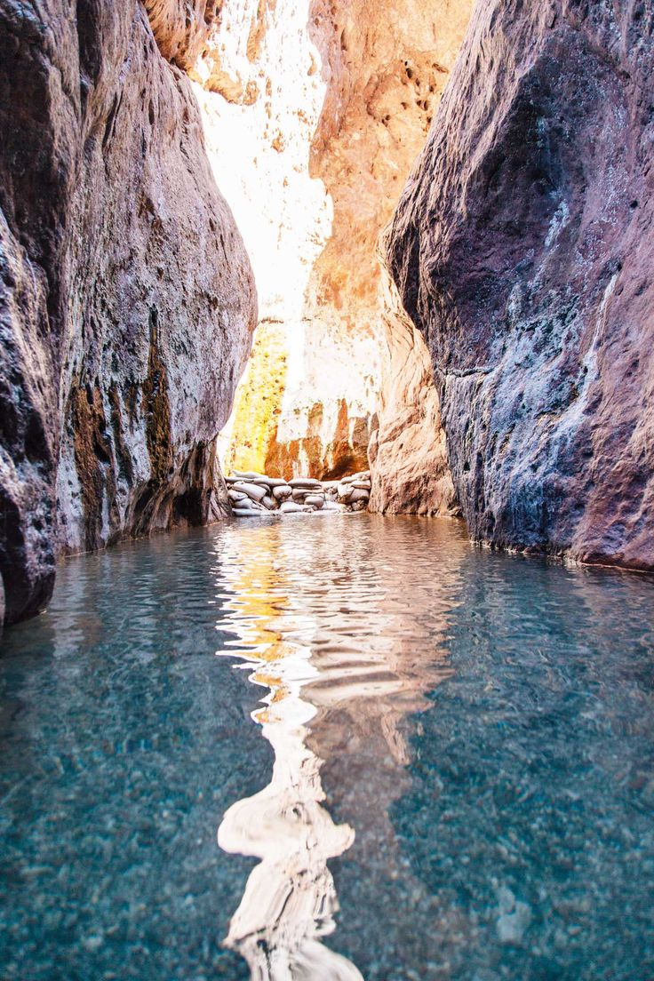 Tucked in a colorful slot canyon along the Colorado River, Arizona Hot Springs offer a beautiful backdrop to enjoy a nice long soak.