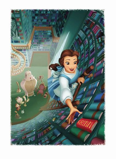 Belle and her books <3