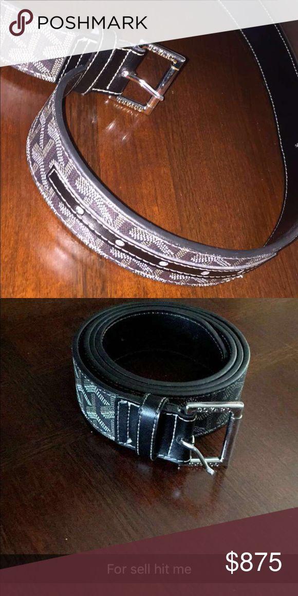 Goyard belt Black / fresh worn once Goyard Accessories Belts