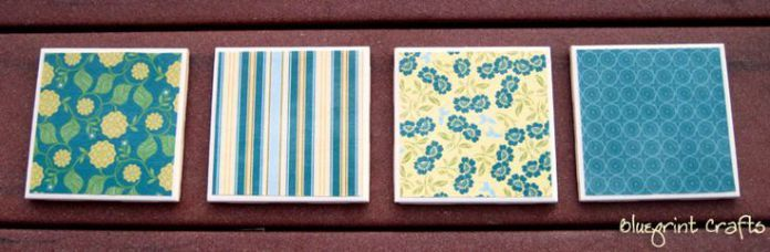DIY Face Masks  : Homemade coasters.  Can make with photo's too.  Just get tiles from Home Dep