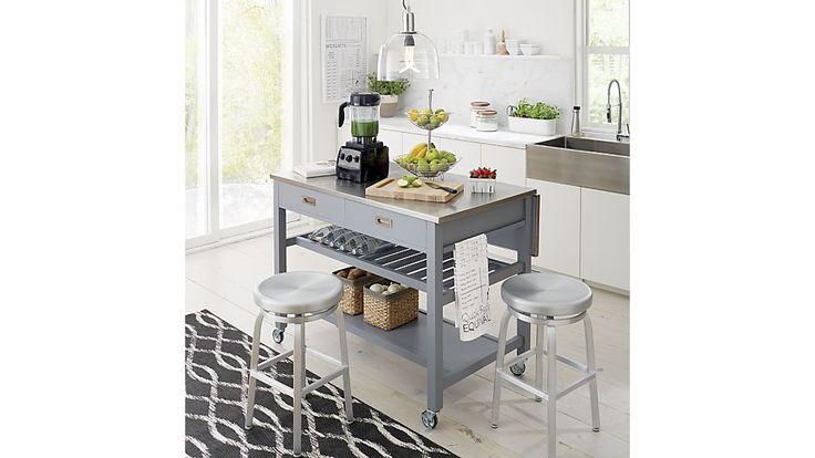 1000 Ideas About Grey Kitchen Island On Pinterest White