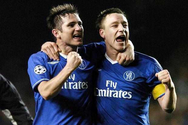 "John Terry ""Frank has so much more to give and he has been an inspiration to everyone at the club, He has got years ahead of him and we all hope they will be spent here at Chelsea.I am not even going to entertain the idea of him playing for another club. Even at his age, he is still the best trainer by a million miles. He works so hard and for him to get that many goals, kids can look... read more on http://uk.eurosport.yahoo.com/news/football-terry-wants-new-lampard-deal-075842344.html"