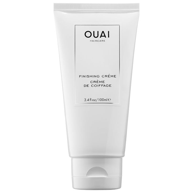 These Products WillMake You Want to Air-Dry Every Single Day - Ouai Finishing Creme  - from InStyle.com