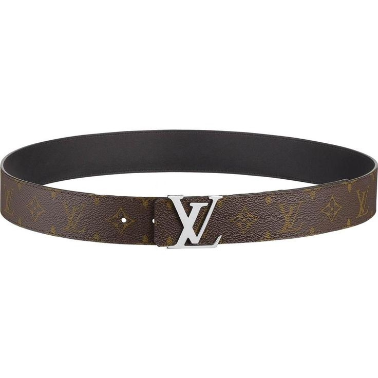 Fearture: * Shiny silvery LV buckle * Reversible: Monogram canvas on one side, smooth black calf leather on the other