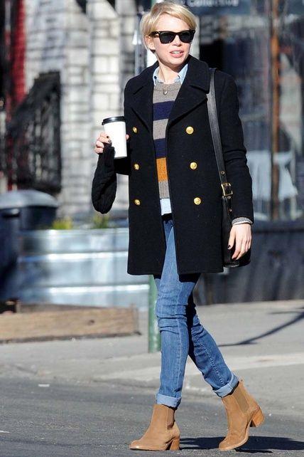 This would look great on Sonja!  A bit preppy with a fun edge!  michelle williams