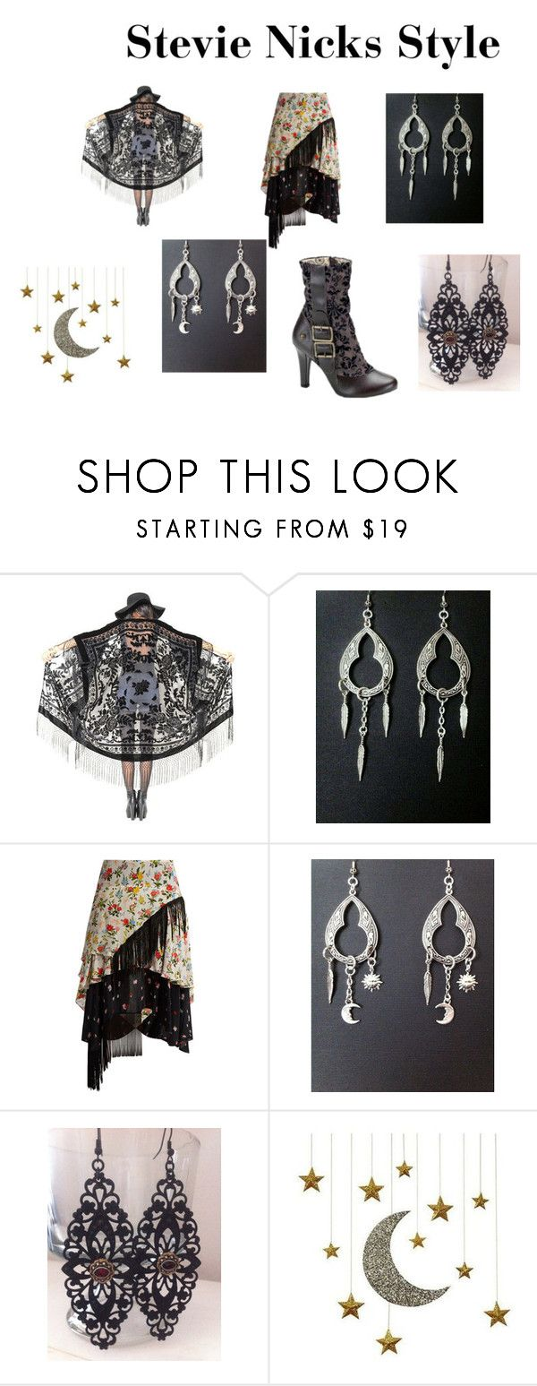 """""""Stevie Nicks Style"""" by redgypsyjewelry on Polyvore featuring Preen and Posh Totty Designs Interiors"""
