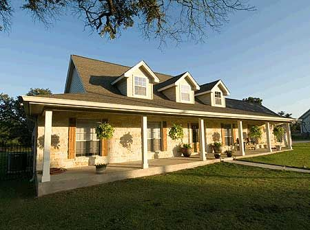 plan 3015d hill country spirit - Country Home Plans