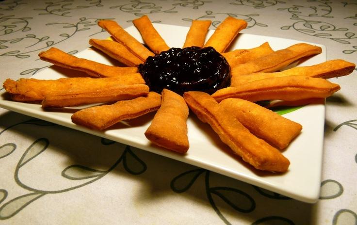 Palitos de queso frito - Fried cheese sticks