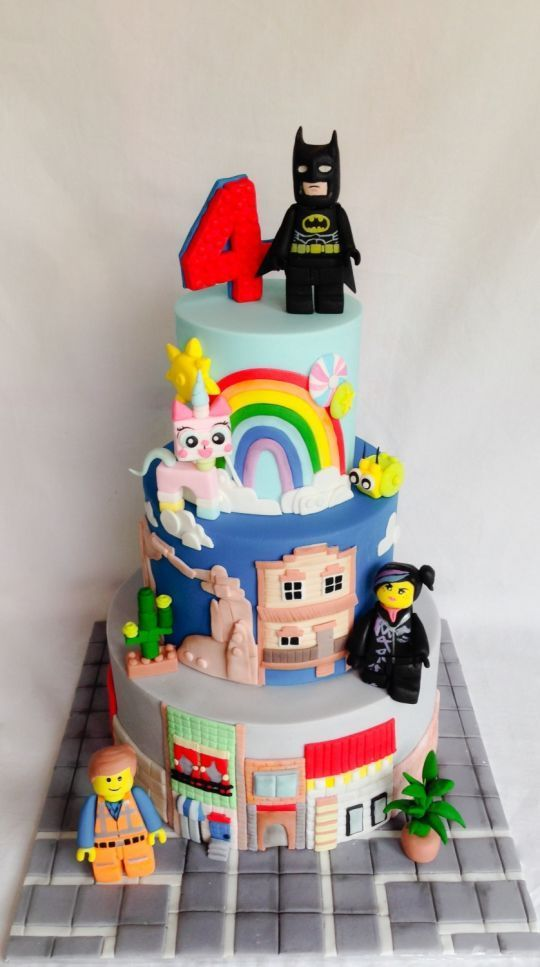 10 Lego birthday cakes that will blow your mind!