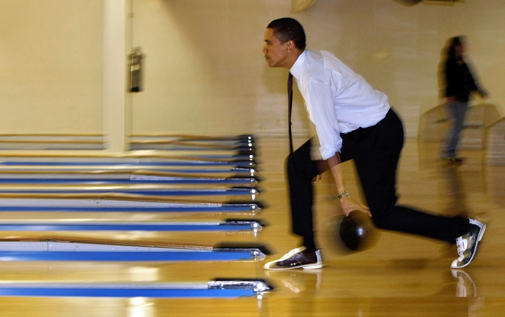 The Famous Bowling Alley Inside The White House Johnson