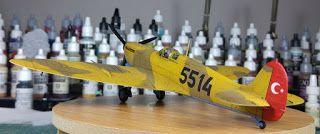 Uçak Modelleri: Tamiya 1/48 Spitfire Mk.Vb. Turkish Airforce - 5514