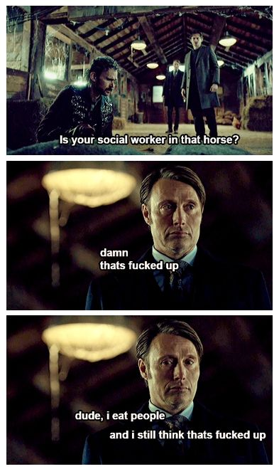"""""""Is your social worker in that horse?"""" is still my favorite line from the entire goddamn show."""
